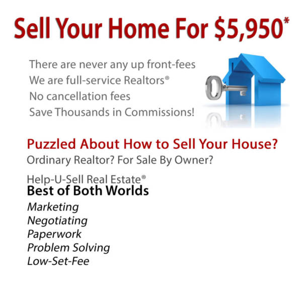 Sell your home for $5950. No up-front fees. No cancellation fees.